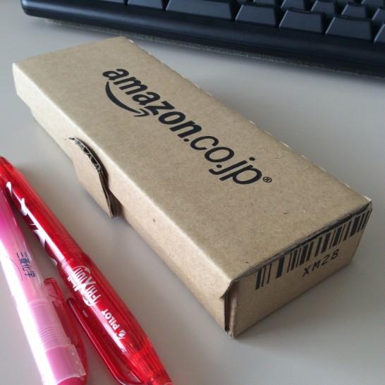 アマゾンのダンボールは依存傾向がある Amazon ペンケース 工作