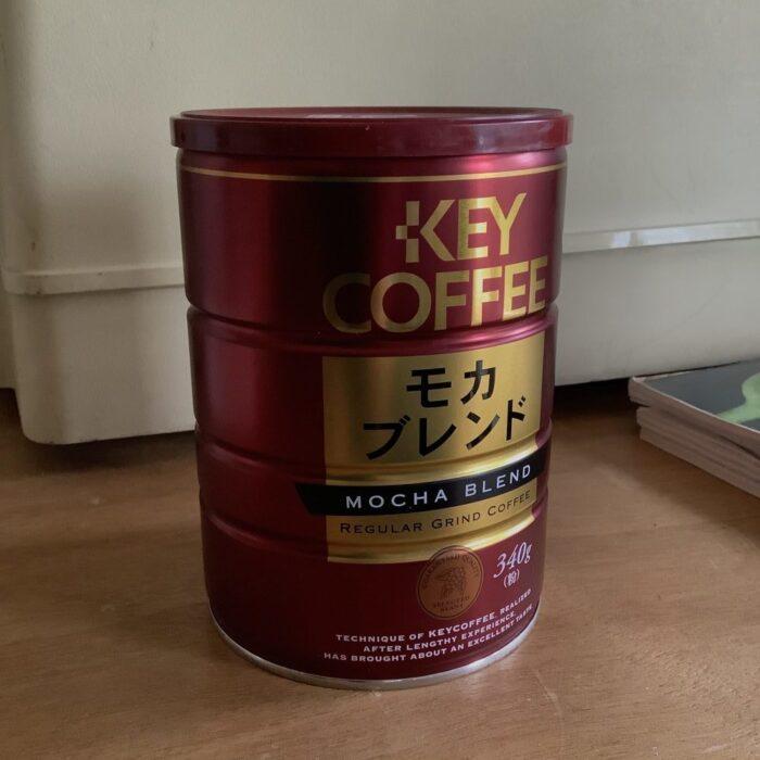 THERMOSのポットTHQ-1001黒陶で淹れるコーヒー粉
