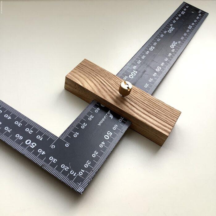 曲尺スケールに、ストッパーを自作