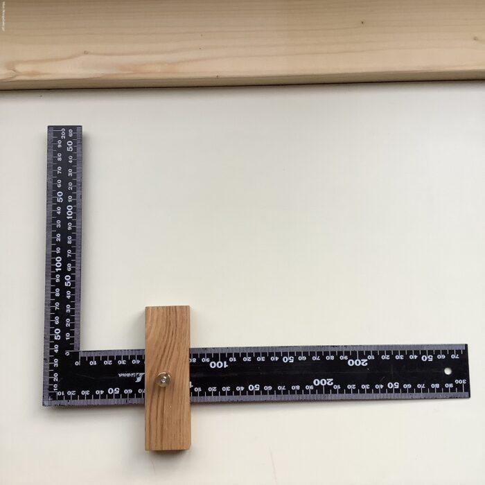 シンワ測定(Shinwa Sokutei) フラットスコヤにストッパー自作